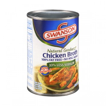 Swanson Natural Goodness Broth Chicken 100% Fat Free