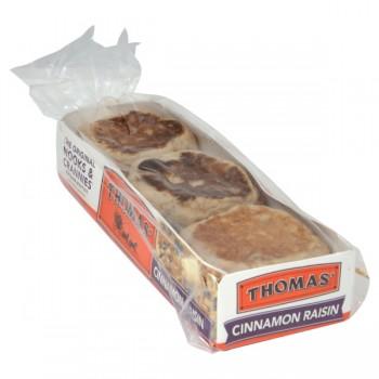 Thomas' English Muffins Cinnamon Raisin - 6 ct