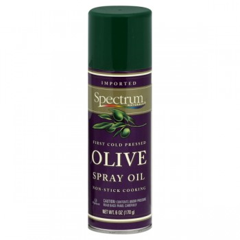 Spectrum Naturals Olive Oil Spray Extra Virgin First Cold-Pressed