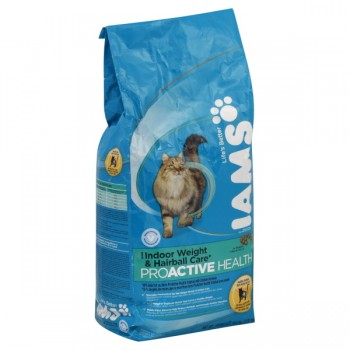 Iams ProActive Health Dry Cat Food Indoor Weight & Hairball Care