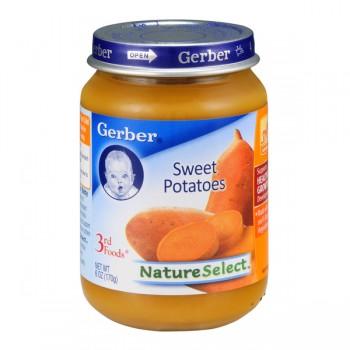 Gerber 3rd Foods Nature Select Sweet Potatoes