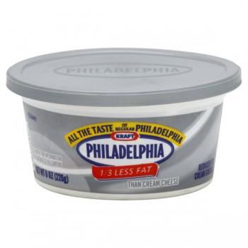 Kraft Philadelphia Cream Cheese Spread 1/3 Less Fat