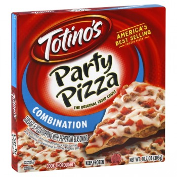 Totino's Party Pizza Combination Crispy Crust Frozen