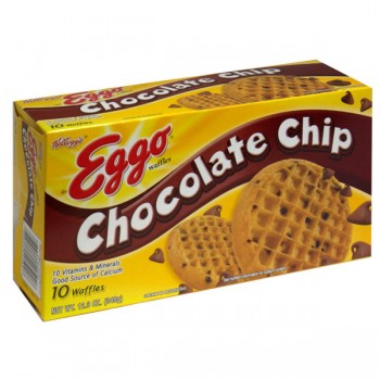 Kellogg's Eggo Waffles Chocolate Chip - 10 ct