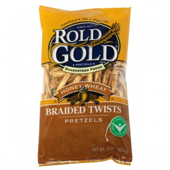 Rold Gold Pretzels Braided Honey Wheat