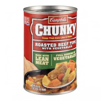 Campbell's Chunky Soup Roasted Beef Tips with Vegetables