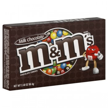 M & M's Candies Milk Chocolate Theatre Box