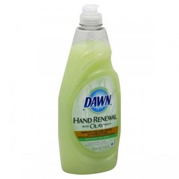 Dawn Hand Renewal with Olay Beauty Dishwashing Liquid Aloe Vera Scent