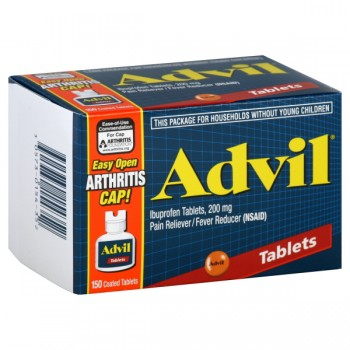 Advil Ibuprofen 200 mg Coated Tablets