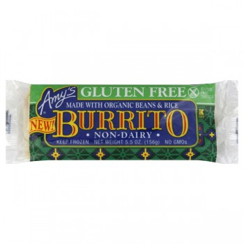 Amy's Burrito Non-Dairy Made with Organic Beans & Rice Gluten-Free