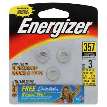Energizer Watch & Calculator 357 Batteries - 3 ct