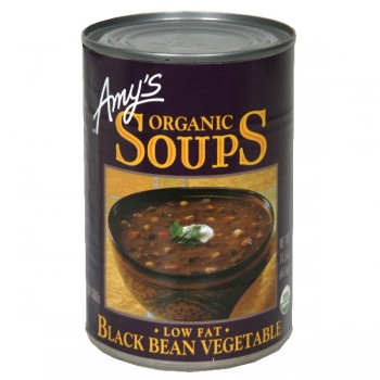 Amy's Soup Black Bean Vegetable Low Fat Organic