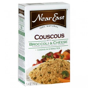 Near East Couscous Mix Broccoli & Cheese 100% Natural