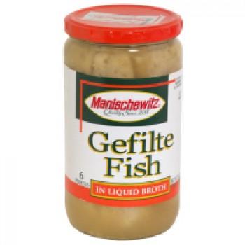 Manischewitz Gefilte Fish in Liquid Broth