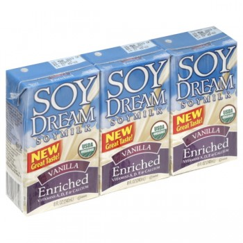 Soy Dream Soy Beverage Non Dairy Vanilla Enriched Organic - 3 pk