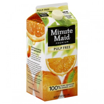 Minute Maid Premium Orange Juice Pulp Free
