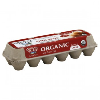Organic Valley Eggs Grade AA Large Brown