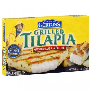 Gorton's Tilapia Grilled Roasted Garlic & Butter - 2 ct Frozen