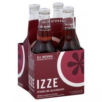 IZZE Sparkling Blackberry Juice - 4 pk