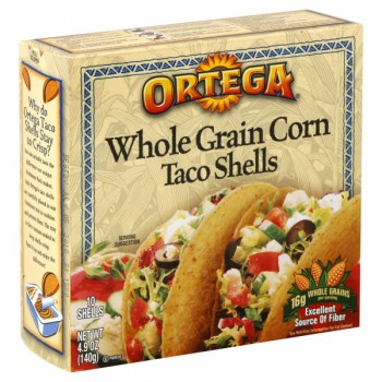 Ortega Taco Shells Whole Grain Corn - 10 ct