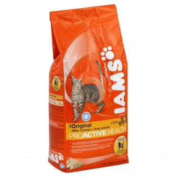 Iams ProActive Health Dry Cat Food Original with Chicken