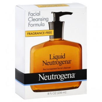 Neutrogena Liquid Facial Cleanser Unscented Pump