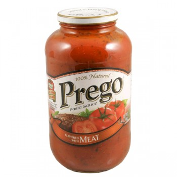 Prego Pasta Sauce with Meat