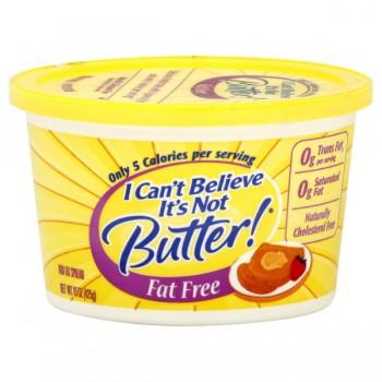 I Can't Believe It's Not Butter Fat Free Spread