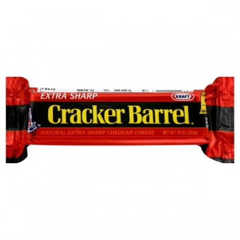 Kraft Cracker Barrel Cheese Cheddar Yellow Extra Sharp