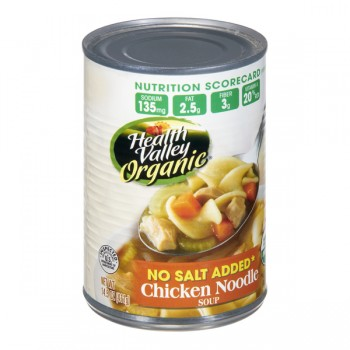 Health Valley Soup Chicken Noodle No Salt Added Organic