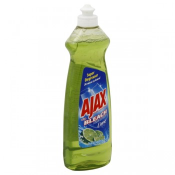 Ajax Dish Liquid with Bleach Alternative Lime
