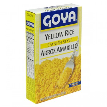 Goya Rice Yellow Spanish Style