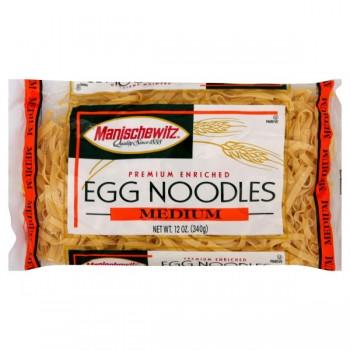 Manischewitz Egg Noodles Medium