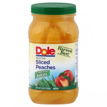 Dole Harvest Best Peaches Sliced in 100% Fruit Juices