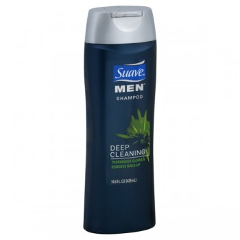 Suave for Men Deep Cleaning Shampoo for All Hair Types