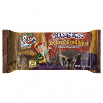 Keebler Fudge Shoppe Cookies Deluxe Grahams