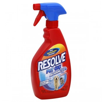 Resolve Carpet Stain Remover Pet Oxi Advanced with Odor Stop Trigger Spray