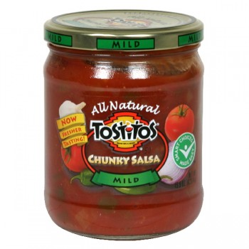Tostitos Salsa Chunky Mild All Natural