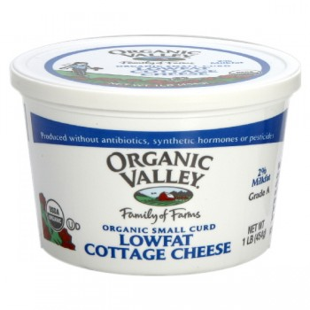 Organic Valley Cottage Cheese Small Curd 2% Low Fat