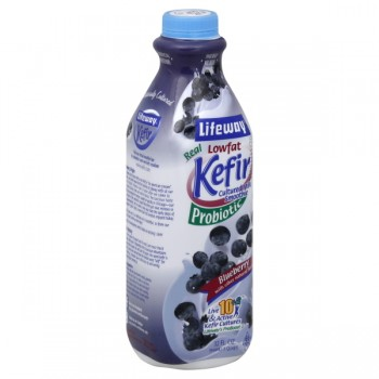 Lifeway Kefir Probiotic Cultured Milk Smoothie Blueberry Low Fat