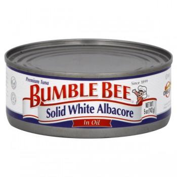 Bumble Bee Tuna Solid White Albacore in Oil