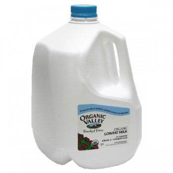 Organic Valley Milk Low Fat 1%