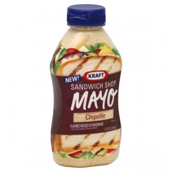 Kraft Sandwich Shop Mayonnaise Reduced-Fat Chipotle