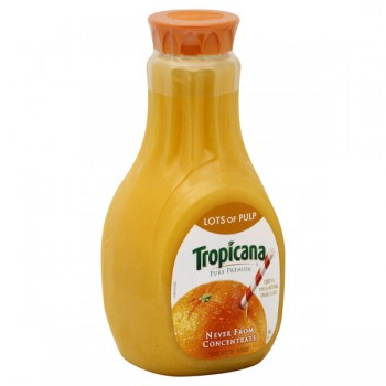 Tropicana Pure Premium 100% Pure Orange Juice Lots of Pulp