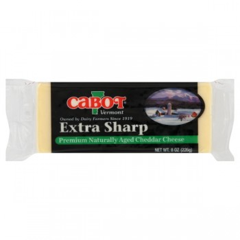 Cabot Vermont Cheese Cheddar Extra Sharp White