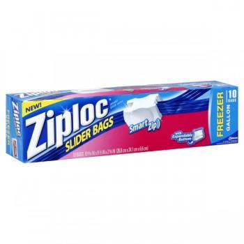 Ziploc Slider Freezer Bags Gallon