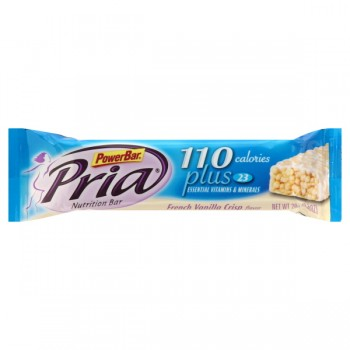 PowerBar Pria Nutritional Bar French Vanilla Crisp
