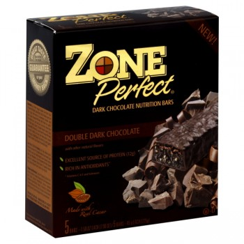 ZonePerfect Nutrition Bars Double Dark Chocolate - 5 ct