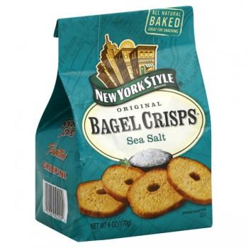 New York Style Original Bagel Crisps Sea Salt