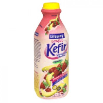 Lifeway Kefir Probiotic Cultured Milk Smoothie Strawberry Banana Low Fat